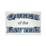 Queen Lawyer Rectangle Magnet (100 pack)