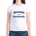 Queen Paralegal Jr. Ringer T-Shirt