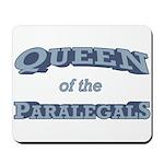 Queen Paralegal Mousepad