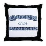 Queen Paralegal Throw Pillow
