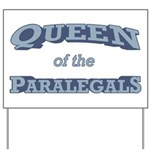 Queen Paralegal Yard Sign