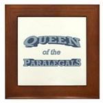Queen Paralegal Framed Tile