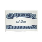 Queen Paralegal Rectangle Magnet (100 pack)