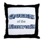 Queen Auditor Throw Pillow