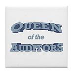 Queen Auditor Tile Coaster