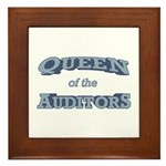 Queen Auditor Framed Tile