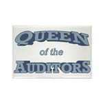 Queen Auditor Rectangle Magnet (100 pack)