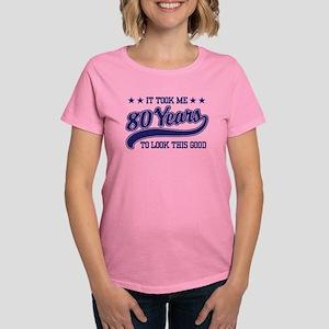 Funny 80th Birthday Women's Dark T-Shirt