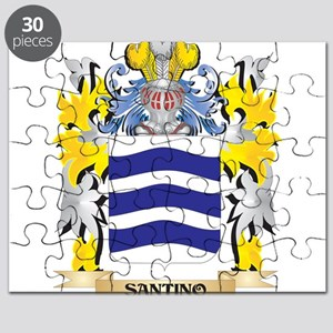 Santino Family Crest - Coat of Arms Puzzle