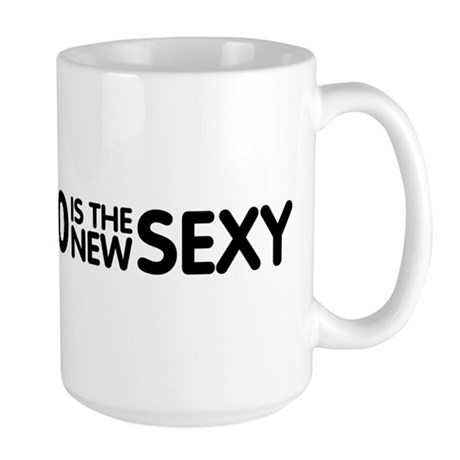 60 Is The New Sexy Large Mug