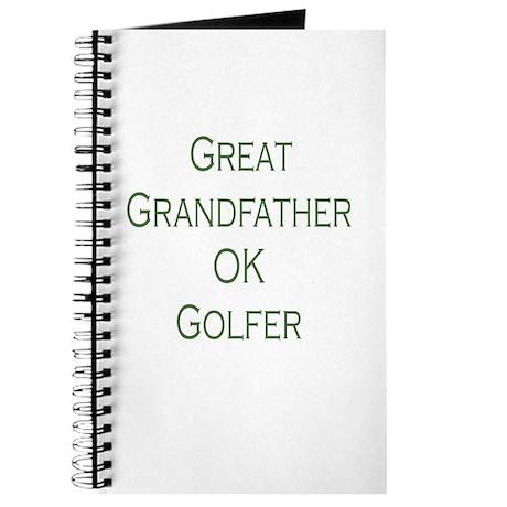 Great Grandfather Ok Golfer Journal