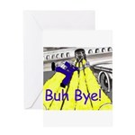 blk-plane-slide (1004 x 834) Greeting Cards