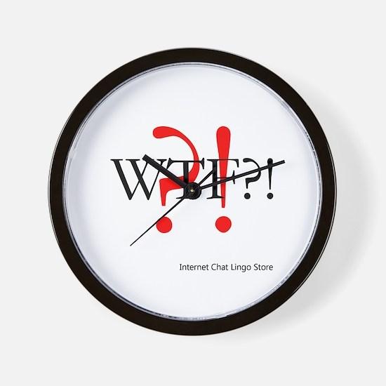 WTF?! Wall Clock