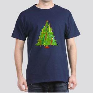 Bassoon Christmas Dark T-Shirt