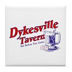Dykesville Tavern Tile Coaster