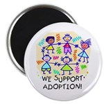We Support Adoption (10pk Magnets)