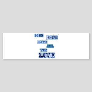 LD Dog Luck! Sticker (Bumper)