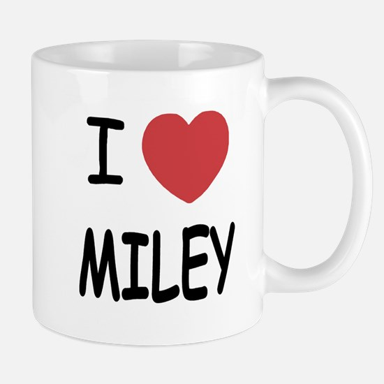 I heart miley Mug