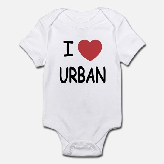 I heart urban Infant Bodysuit