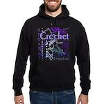 Crochet Purple Hoodie (dark)