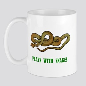 Plays With Snakes Mug