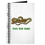 Plays With Snakes Journal