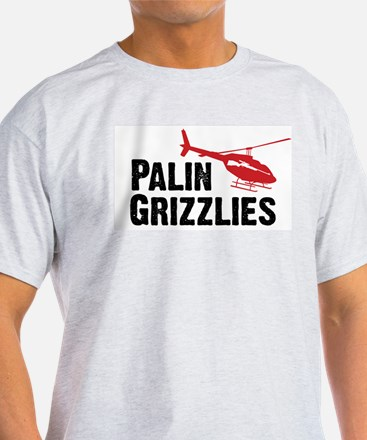 Palin Hunts Grizzlies T-Shirt