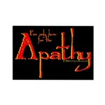 Apathy Rectangle Magnet (100 pack)