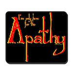 Apathy Mousepad