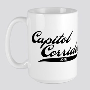 Capitol Corridor (script) Large Mug