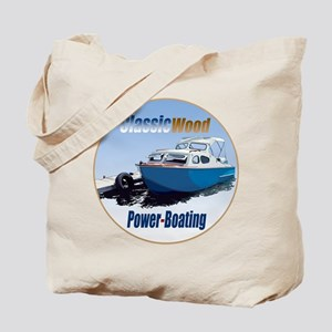 The Classic Wood Power-Boatin Tote Bag