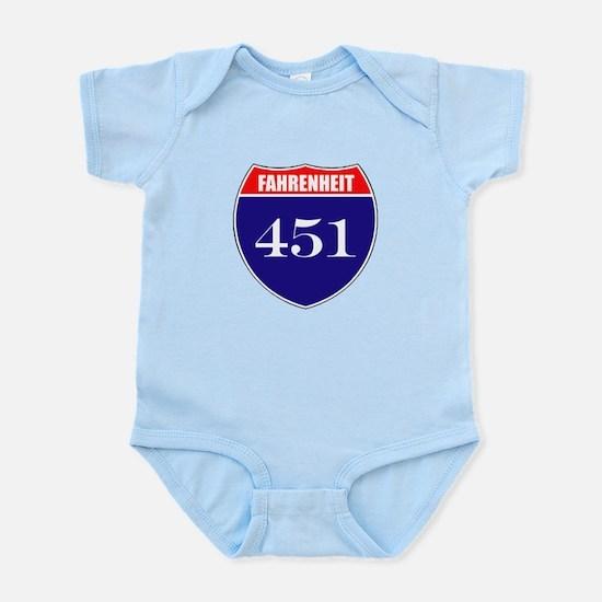 Fahrenheit Route 451 Infant Bodysuit