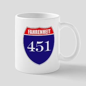 Fahrenheit Route 451 Mug