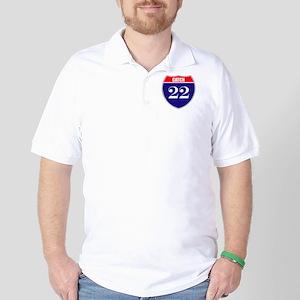 Catch 22 Route Golf Shirt
