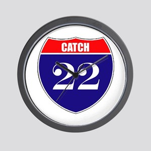 Catch 22 Route Wall Clock