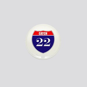 Catch 22 Route Mini Button