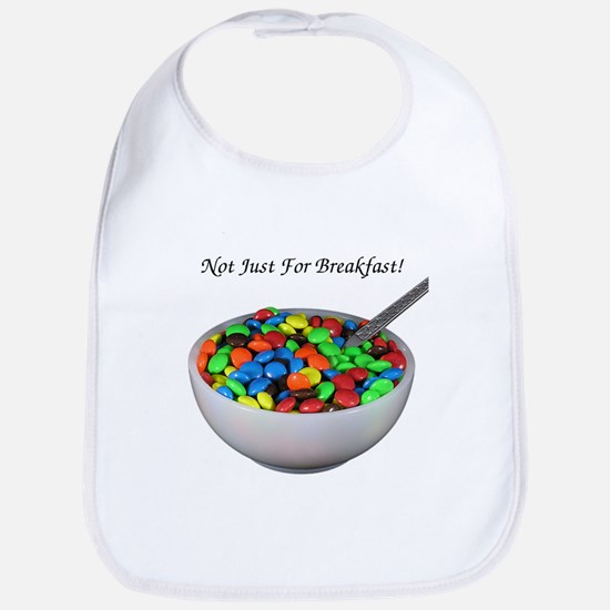 breakfast candy Bib