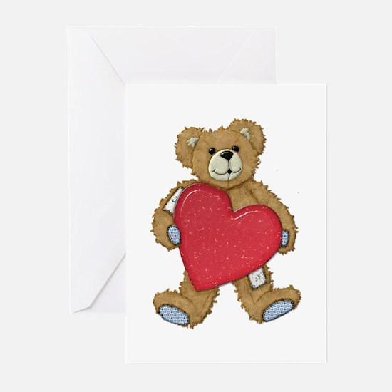 Teddy Bear Love Greeting Cards (Pk of 10)