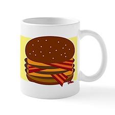 Bacon Triple Cheeseburger Coffee Mug