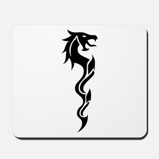 Tribal Dragon Dagger Mousepad