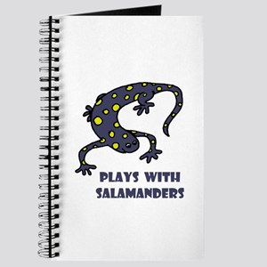 Plays With Salamanders Journal