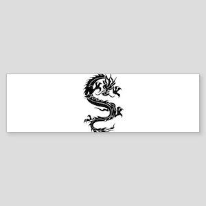 Tribal Dragon Old Sticker (Bumper)