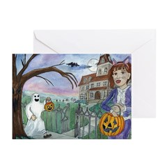 Trick or Treat Greeting Cards