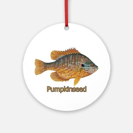 Pumpkinseed Sunfish Ornament (Round)