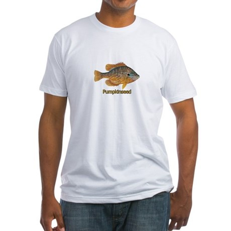 Pumpkinseed Sunfish Fitted T-Shirt