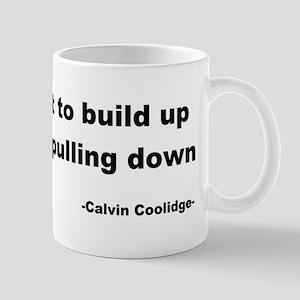 Calvin Coolidge Quote Mug