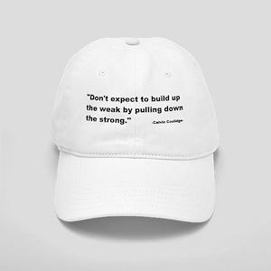Calvin Coolidge Quote Cap