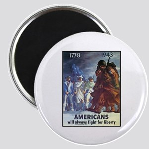 Fight for Liberty Poster Art Magnet