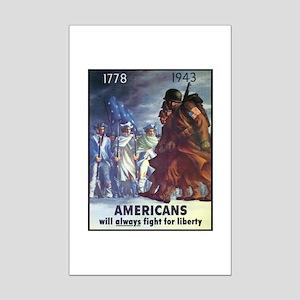 Fight for Liberty Poster Art Mini Poster Print