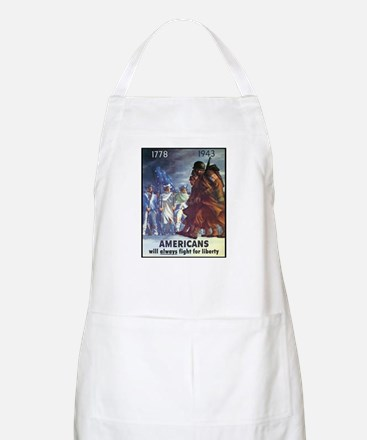 Fight for Liberty Poster Art BBQ Apron